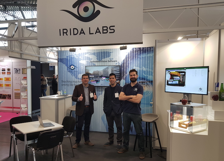 embedded world 2020 irida labs booth