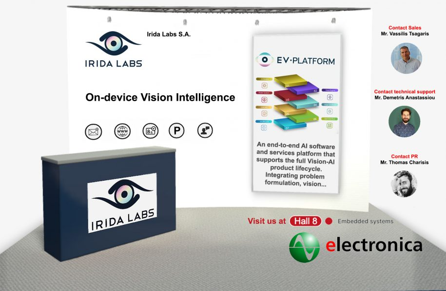 iridalabs-electronica-booth-2020