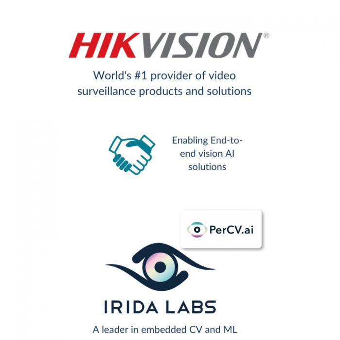 HikVision Irida Labs Partnership