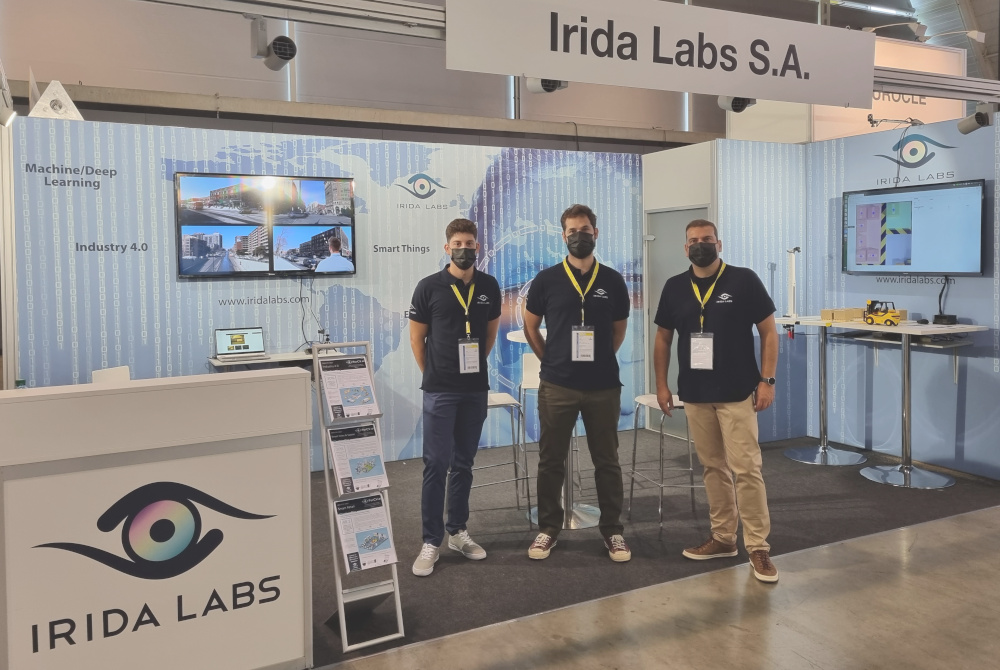 Irida labs booth vision 2021